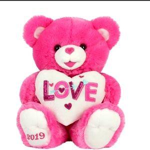 Hot Pink Teddy bear.